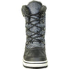 VANGELO Women Water Proof Boot JL9518 Ankle Winter Fur Casual Boot Black