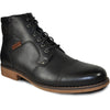 BRAVO Men Boot JL9806 Dress Winter Fur Boot Black