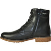 BRAVO Men Boot JL9808 Dress Winter Fur Boot Black