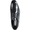 BRAVO Men Dress Shoe KING-1 Oxford Shoe Black - Wide Width Available
