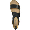 VANGELO Women Sandal LONDON Flat Sandal Black