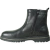 BRAVO Men Boot MARTEN-3 Casual Winter Fur Boot - Waterproof Black