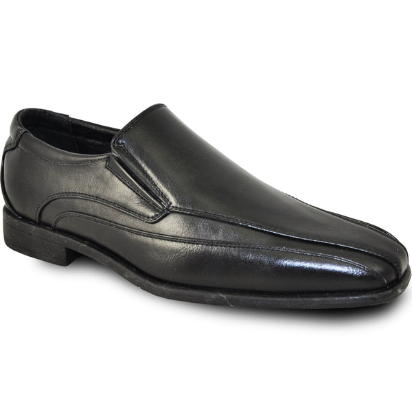 BRAVO Boy Dress Shoe MILANO-7KID Loafer Shoe Black