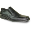 BRAVO Men Dress Shoe MILANO-7 Loafer Shoe Black