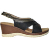 VANGELO Women Sandal PARKER Wedge Sandal Black