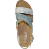 VANGELO Women Sandal REESE Wedge Sandal Blue