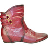 VANGELO Women Boot SD4416 Ankle Casual Boot Bordo Red