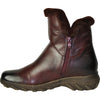 VANGELO Women Boot SD9526 Ankle Winter Fur Casual Boot Bordo Red