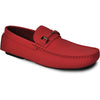 BRAVO Men Casual Shoe TODD-1 Driving Moccasin Red