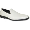VANGELO Men Dress Shoe VALLO-3 Loafer Formal Tuxedo for Prom & Wedding Ivory Matte - Wide Width Available - Ortholite Insole