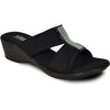 VANGELO Women Sandal VENICE Wedge Sandal Black