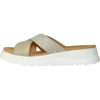 VANGELO Women Sandal ZARA Wedge Sandal Light Gold