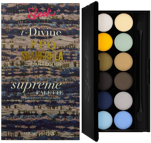 Sleek I-Divine Eyeshadow Pallette - Supreme