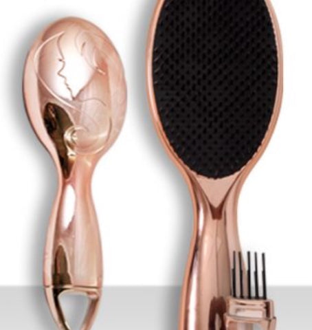 ROSE GOLD REPUNZAL DUO HAIR BRUSH