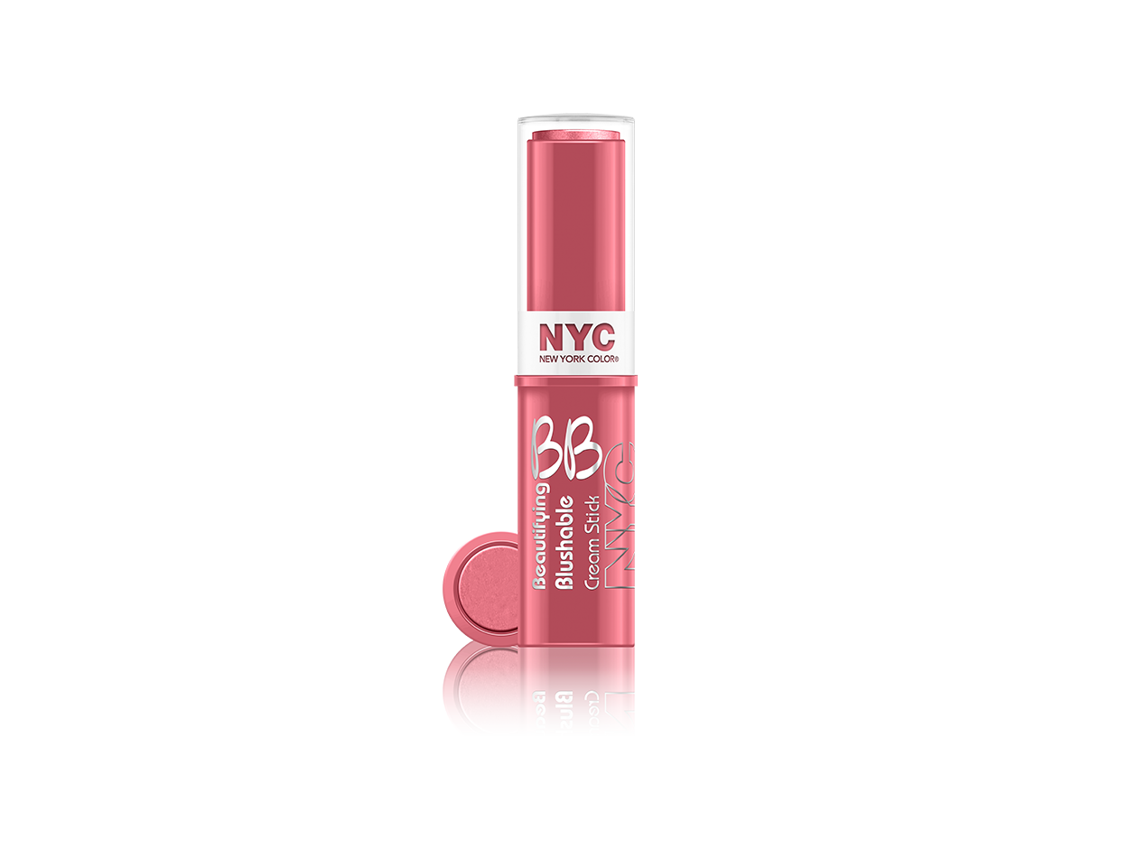 NYC BB Beautifying Blush Stick Never Sleeping Pink 002