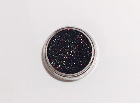 Glamour Glitter Gel Holographic Space World Black 1-Glamour By DKUK Ltd