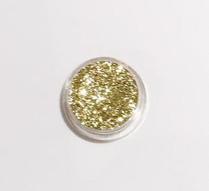 Glamour Glitter Gel Holographic Soft Gold 12-Glamour By DKUK Ltd