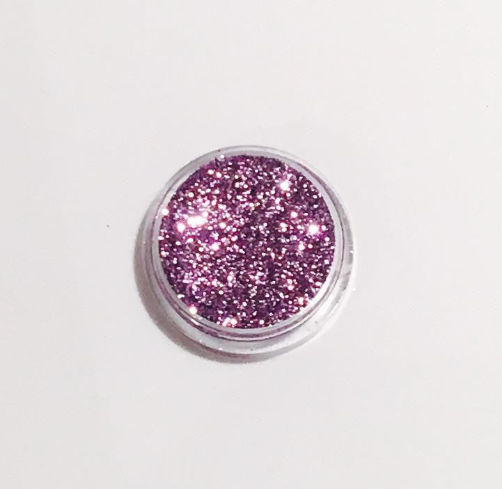 Glamour Glitter Gel Holographic Metallic Lilac 13-Glamour By DKUK Ltd