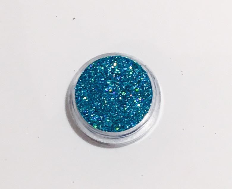 Glamour Glitter Gel Holographic Ocean Blue 21-Glamour By DKUK Ltd