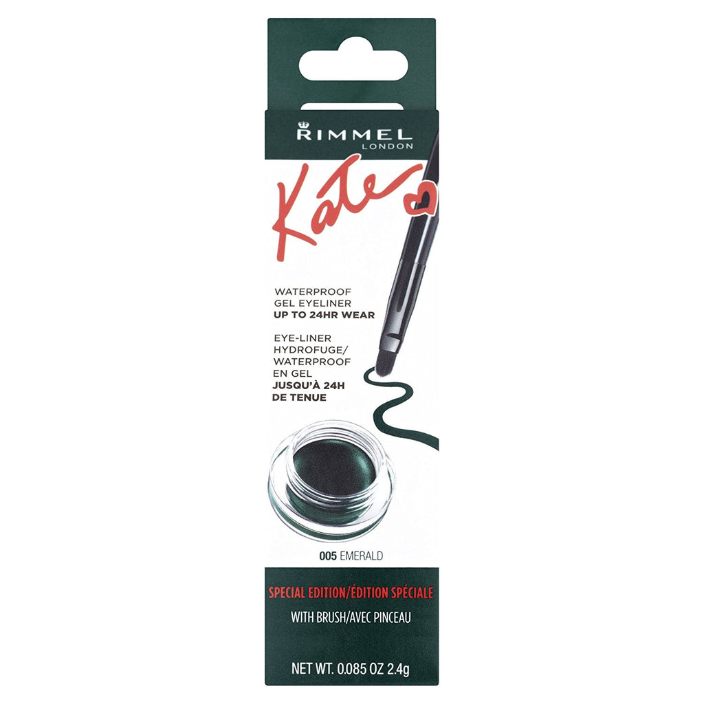 Rimmel Kate WaterProof Eyeliner ( Emerald ) - Glamour By LKUK