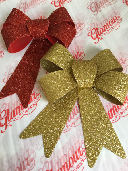 Extra Large Glitter Bow