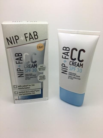NIP + FAB CC Cream Light