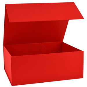 Extra Large Snap Shut Luxury Box in RED only