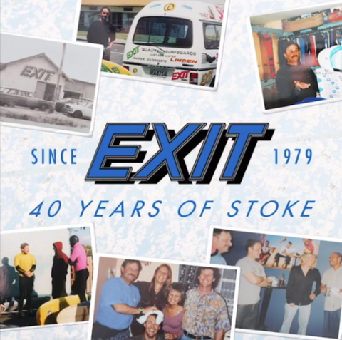Exit Surf 40yrs