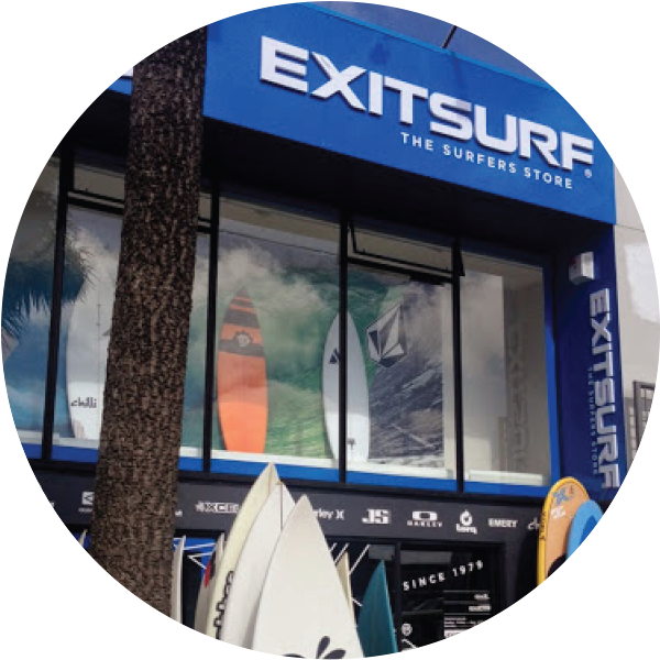 Exit Surf Store, Ferrymead, Christchurch, New Zealand