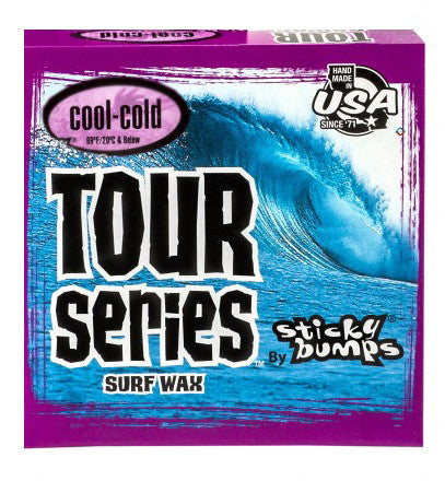 Sticky Bumps Tour Series Cool/Cold Surf Wax 85g