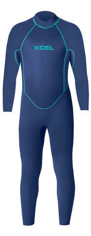 Xcel Axis 2mm L/S Springsuit - Black