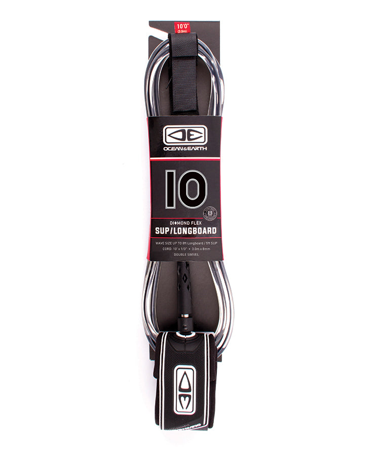 "O&E SUP/Longboard Regular 10'0"" Leash"