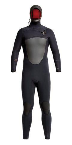 Xcel Youth Comp 4/3 Fullsuit - Black/White