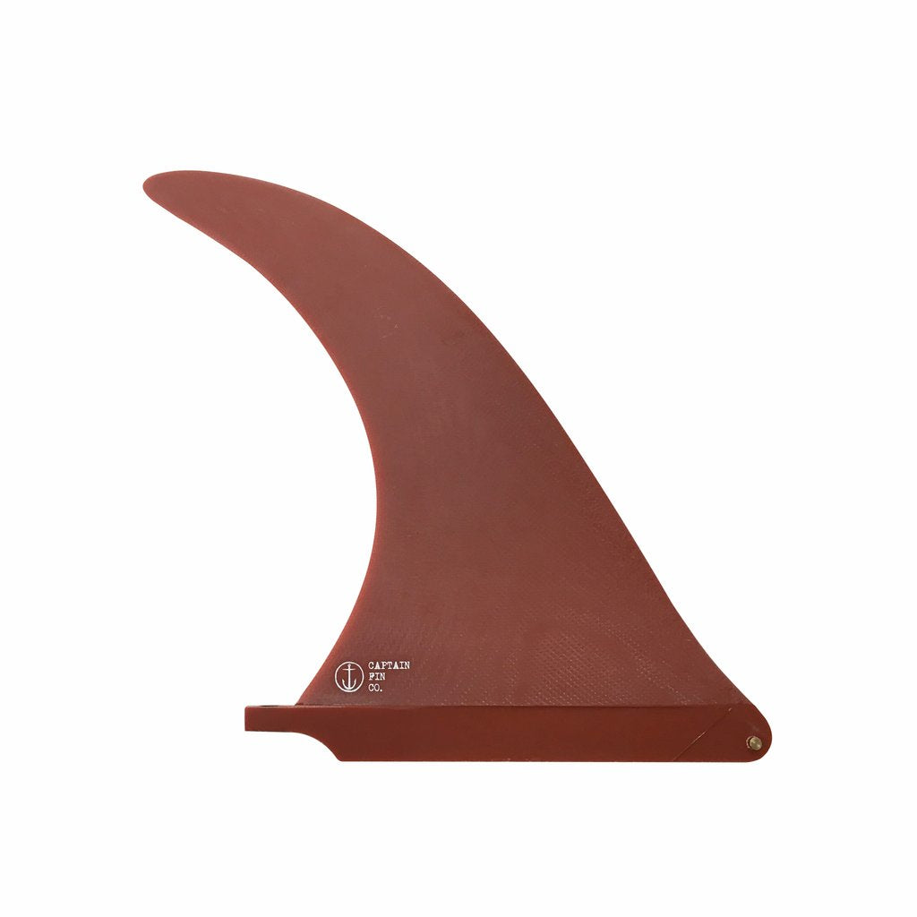 "Captain Fin Alex Knost 10"" Sunshine Fin - Red"
