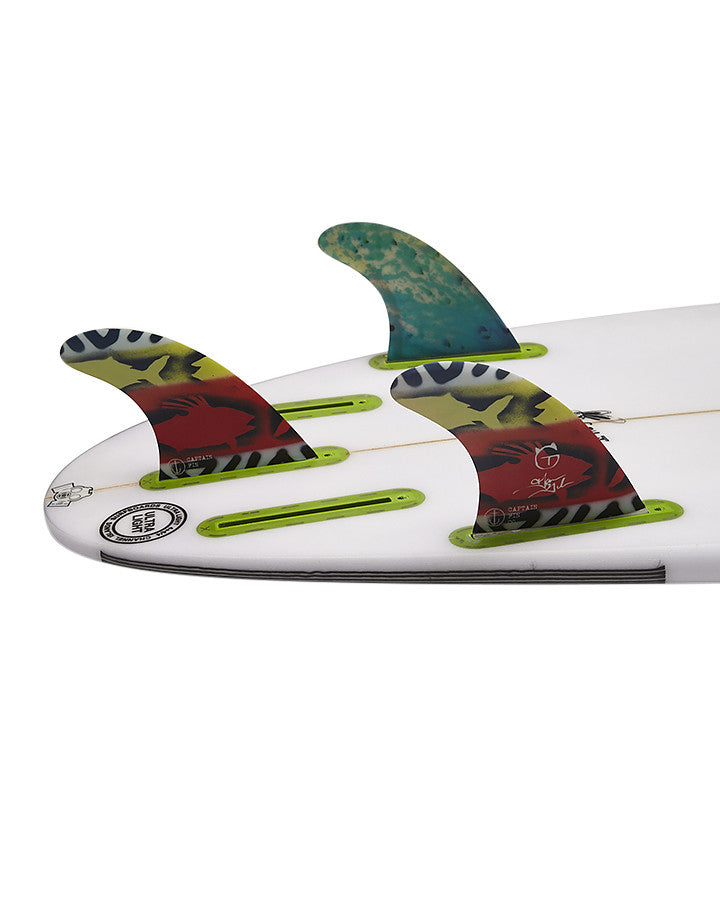 Captain Fin Tanner Gudauskas Single Tab Tri Fin Set