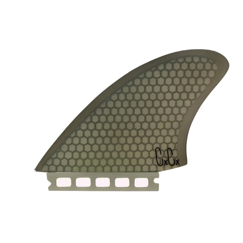 Captain Fin Christenson Keel Fin HC SMOKE - Single Tab