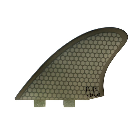 Captain Fin Christenson Keel Fin HC SMOKE - Twin Tab
