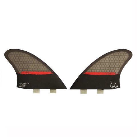 Captain Fin Christenson Splatter Keel Twin - Twin Tab Fin Set