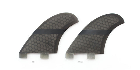 Captain Fin Jeff McCallum Quad Twin Tab Fin Set