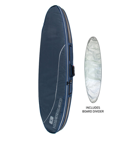 O&E Double Compact Shortboard Cover '18