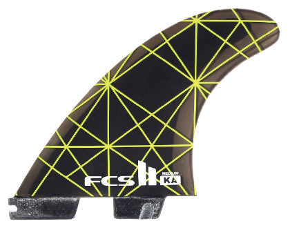 FCSII Firewire PC Carbon Tri/Quad Fin Set