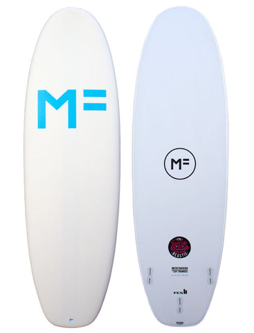 Mick Fanning Beastie Softboard White/FCSII