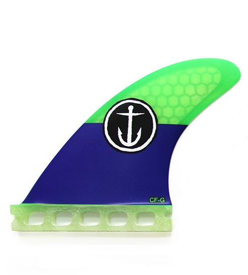 Captain Fin CF Grom Single Tab Tri Fin Set