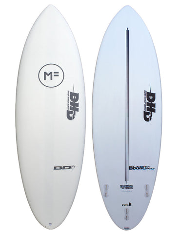 Mick Fanning DHD Twin Softboard - Grey/FCSII