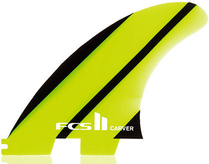 FCSII Carver Neo Glass Tri Fin Set