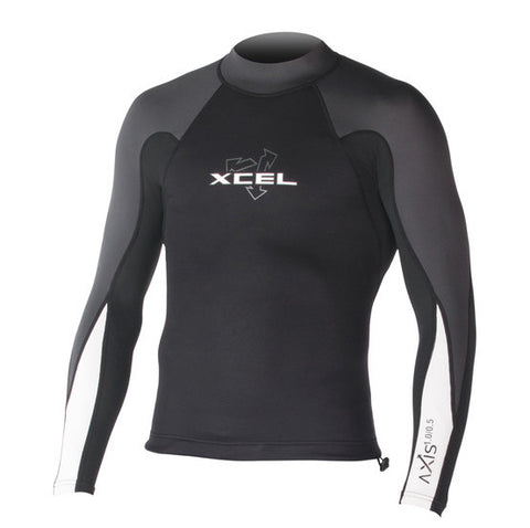 Xcel Axis L/S Neostretch 1mm Wetsuit top