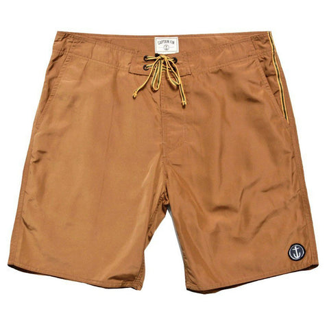 CAPTAIN FIN POCKETEER HALF-BREED SHORTS - BRONZE