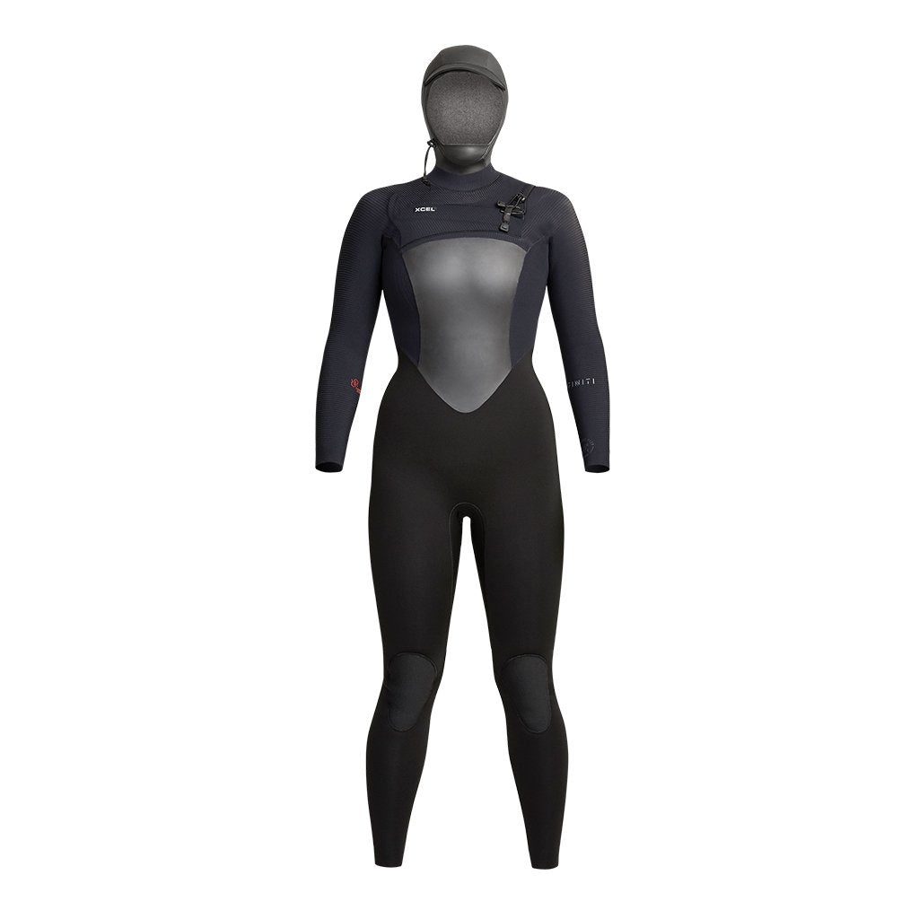 Xcel Ladies Infiniti 5/4 Hooded Fullsuit