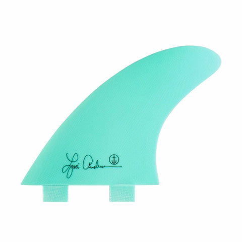 Captain Fin Lisa Anderson STwin Tab Tri Fin Set