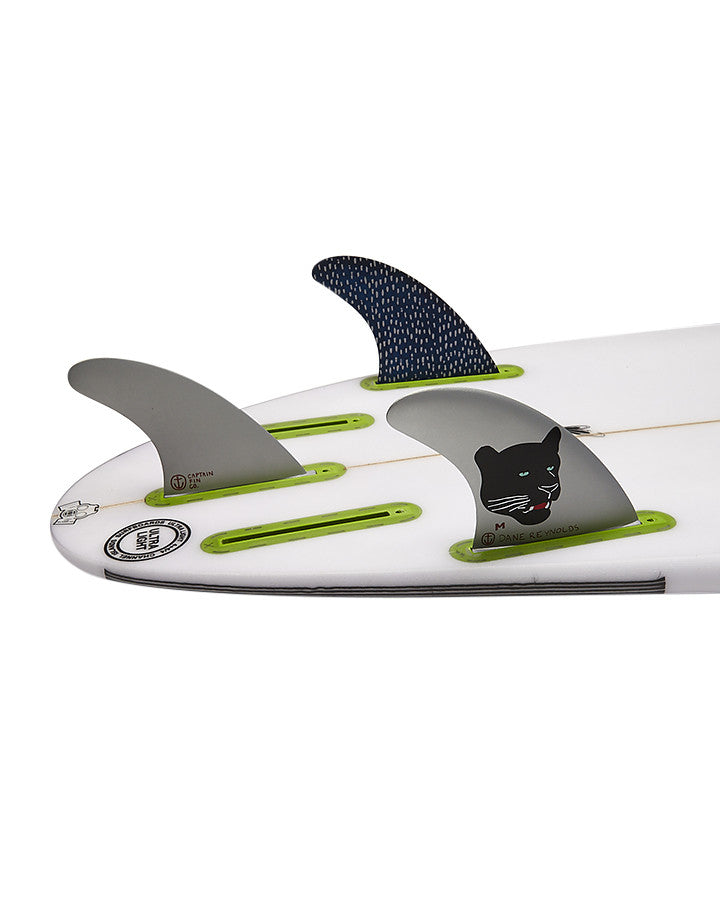Captain Fin Dane Reynolds Single Tab Tri Fin Set